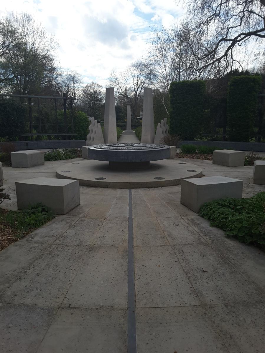 Tibetan Peace Garden, London