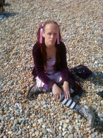 Moi, Brighton beach 2011