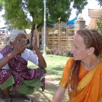 moi with temple trust gardener
