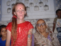 moi with grandma joshi