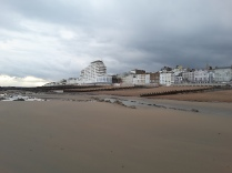 saint leonards beach - west facing